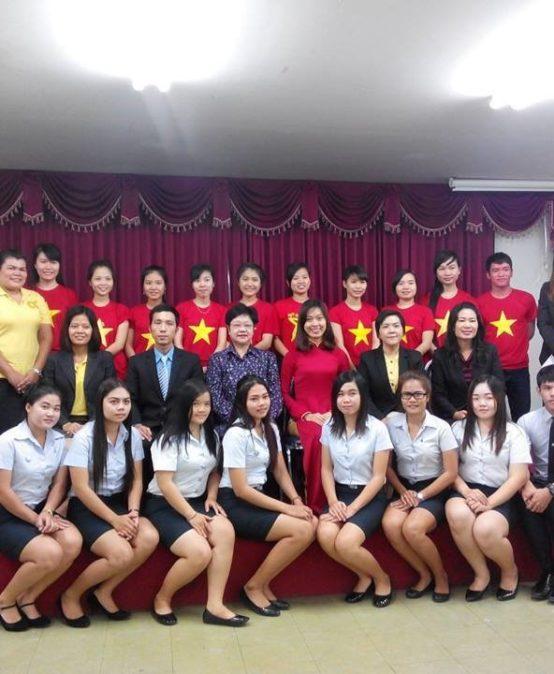 Thực tập tại Đại học Chaopraya và tập đoàn KTIS – Thái Lan