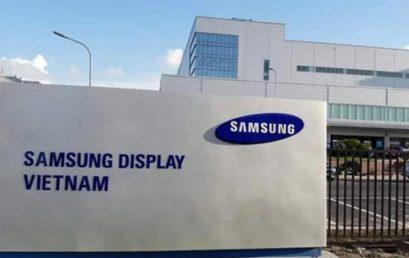 Kết quả phỏng vấn của Công ty Samsung Display Việt Nam