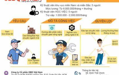 ODB Việt Nam tuyển dụng
