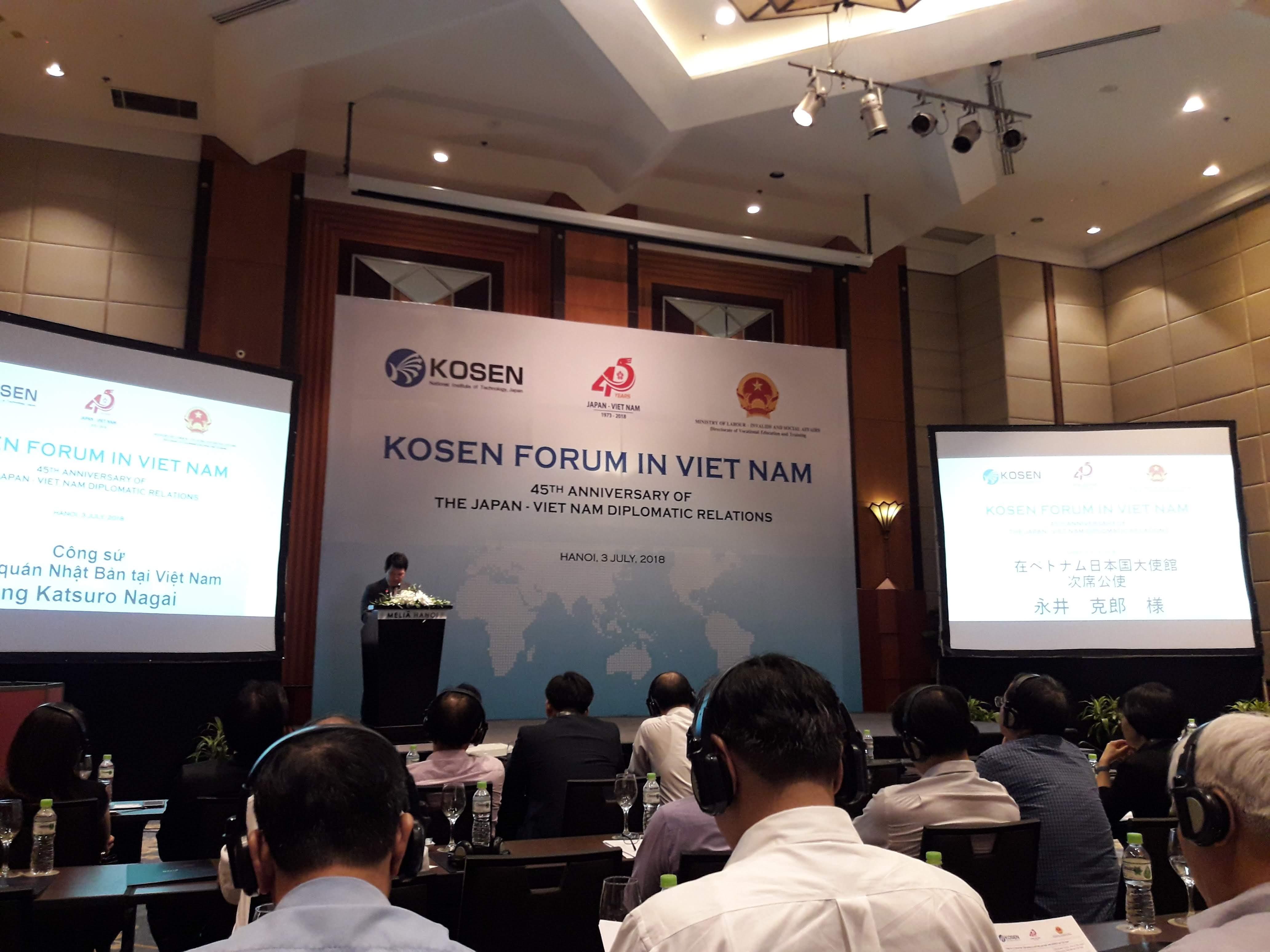 Triển khai mô hình đào tạo KOSEN – Nhật Bản