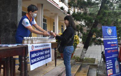 Hỗ trợ dung dịch nước rửa tay khô sát khuẩn tại huyện Phú Lộc – Thừa Thiên Huế