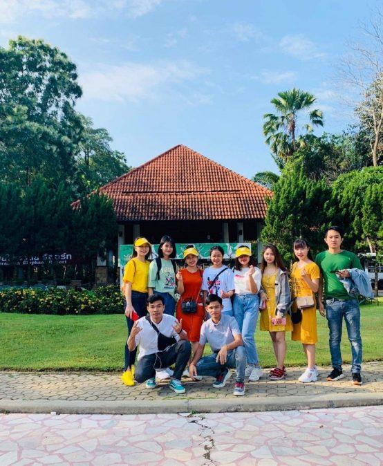 Cảm nhận của sinh viên khoa Kinh tế – Dịch vụ về chuyến thực tập tại Thái Lan