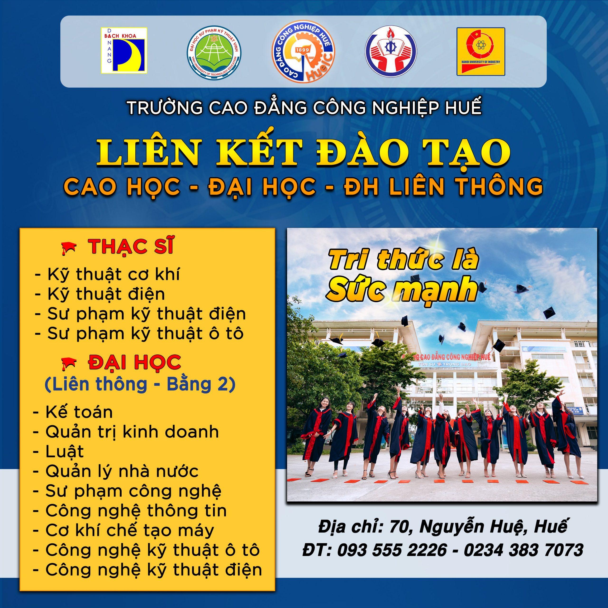 Tuyển sinh Đào tạo Cao học – Đại học
