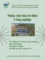 Cơ hội việc làm tại TTC Attapeu Lào