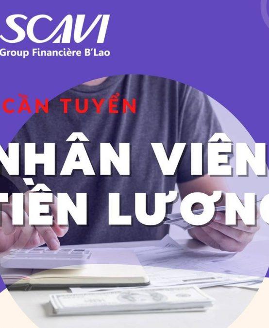 SCAVI Huế tuyển dụng
